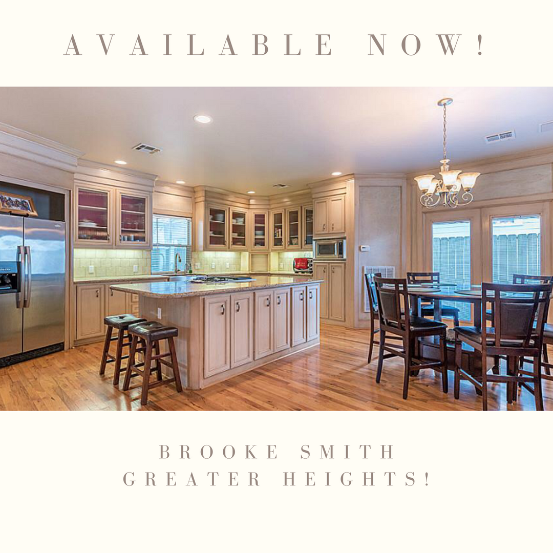 Available In The Greater Houston Heights Live In One Of The Most
