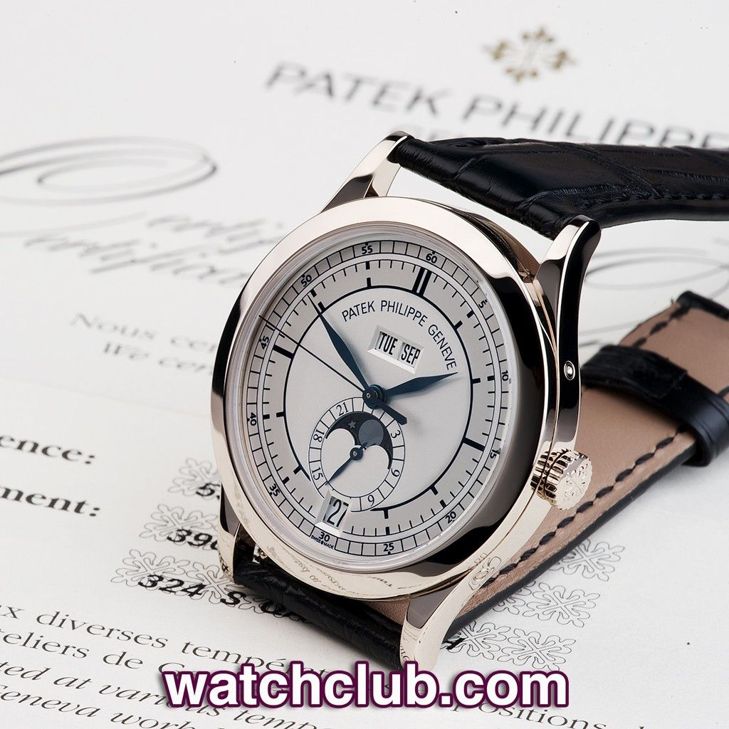 Patek Philippe Annual Calendar - White Gold REF: 5396G | Year Mar 2009 - The quintessential Patek Philippe annual calendar currently retails at £34,700... Combining classic Calatrava design with Patek's signature complication and the sectored 'scientific' dial this ref.5396G has just returned from Patek service and is covered by their 12 month service warranty - for sale at Watch Club, 28 Old Bond Street, Mayfair, London