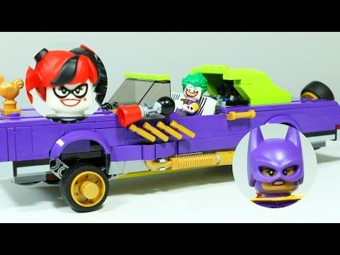 The Joker Notorious Lowrider | LEGO Batman Movie Review & Speed
