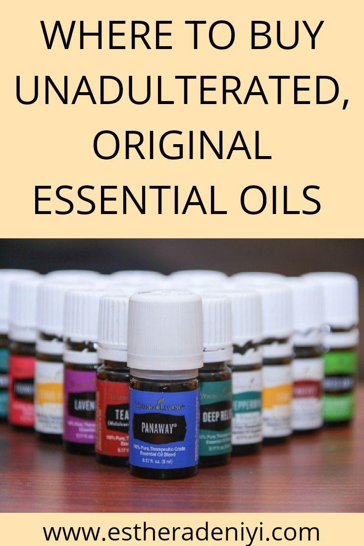 Where And How To Buy Original Essential Oils Caballeros Del