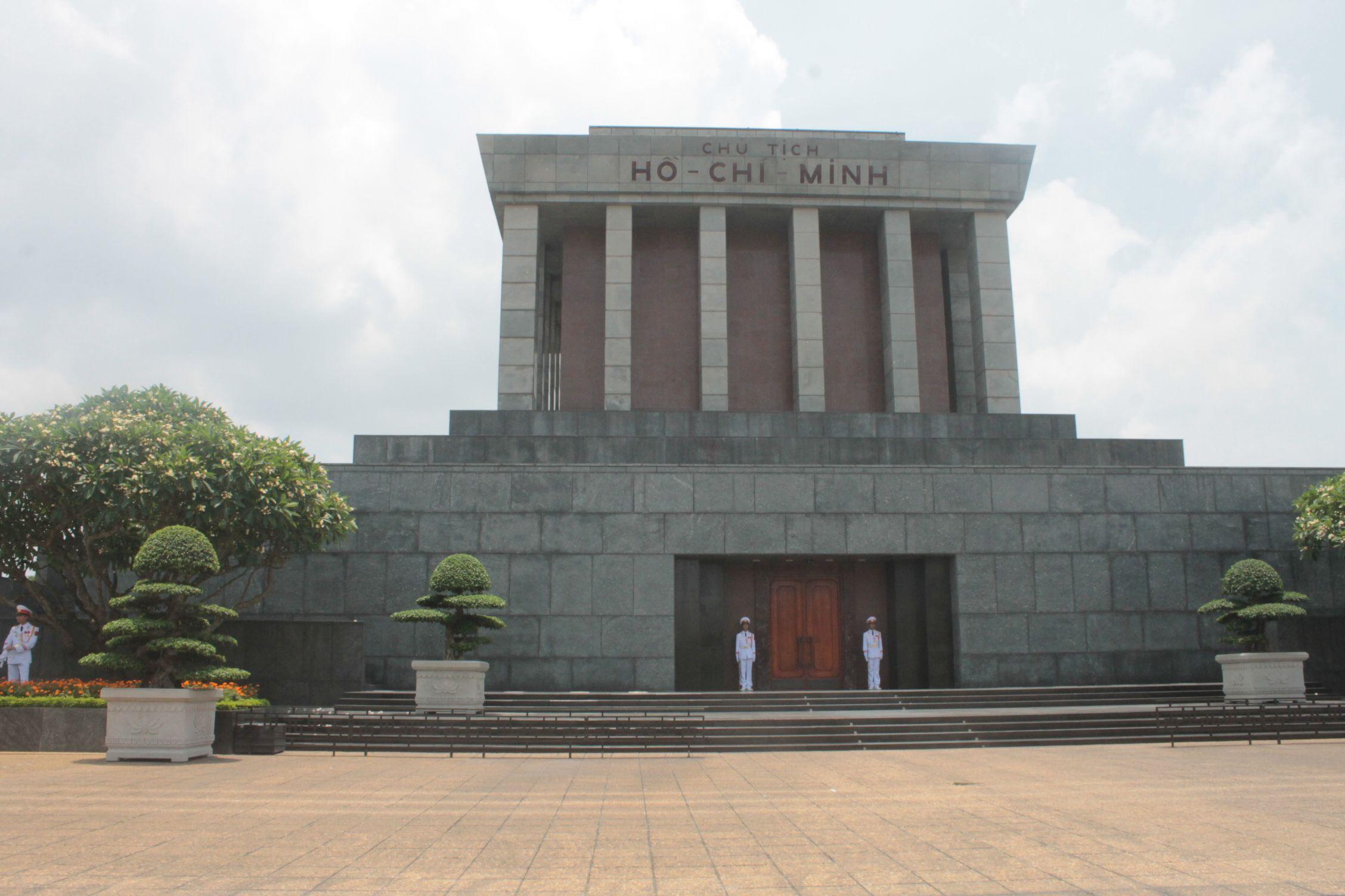 Mauseoleo del político Ho Chi Minh