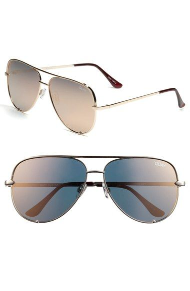 92655413a5a06 Quay Australia x Desi Perkins  High Key  Aviator Sunglasses available at   Nordstrom