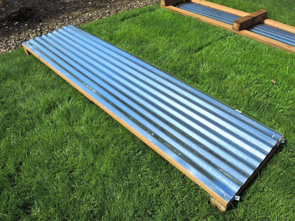 Galvanized Metal Raised Bed Tutorial Vegetable Garden 400 x 300