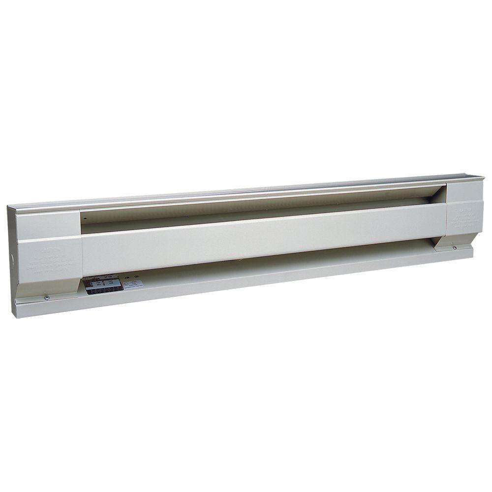 Cadet 72 In 1500watt 240volt Electric Baseboard Heater In White