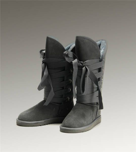 ugg tall roxy 5818 grey boots shoes uggs boots fashion rh pinterest com