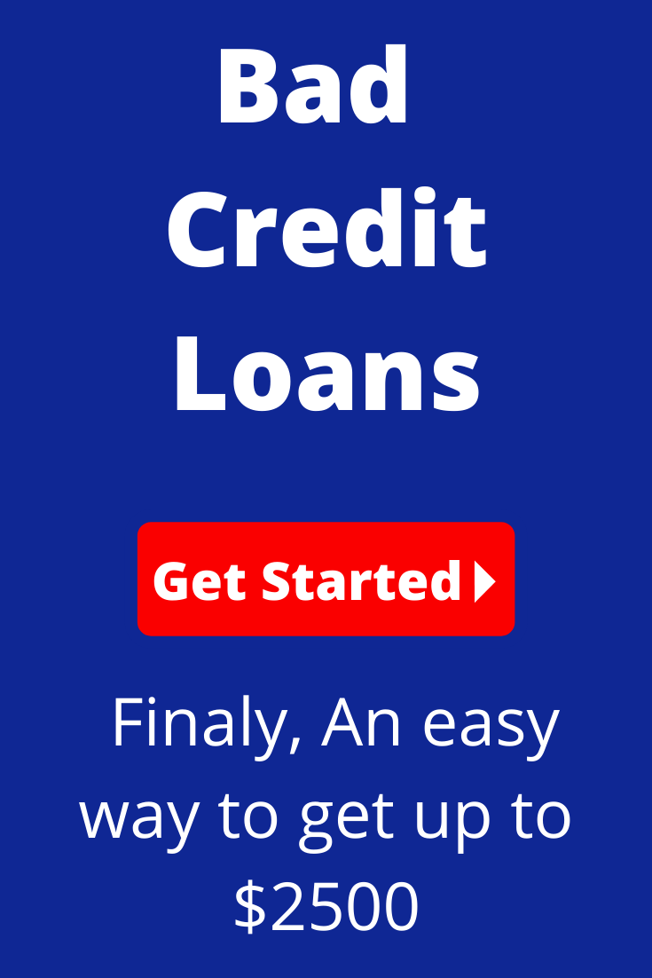 Finaly, An easy way to get up to 2500! Bad Credit loans