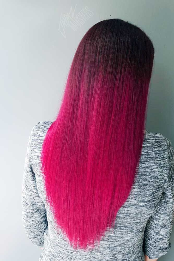 36 Pretty Pink Ombre Hair to Try Immediately #hairideas