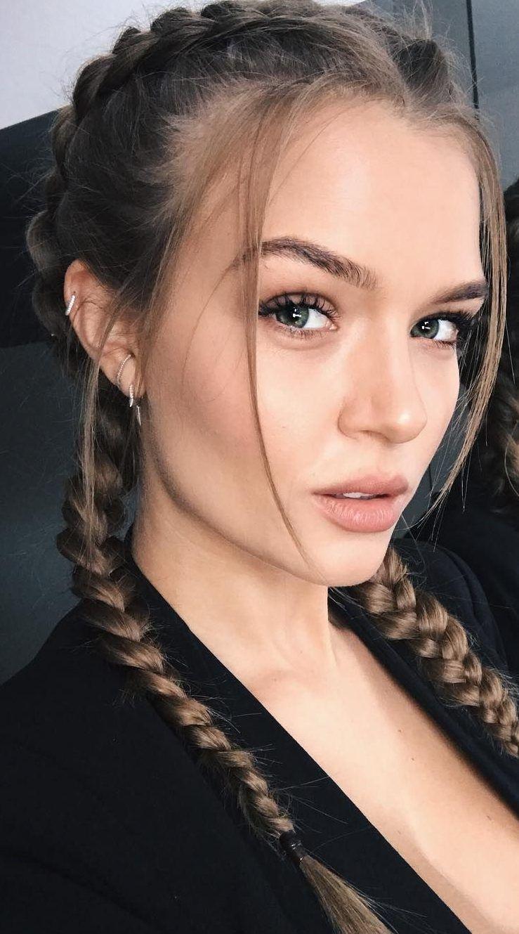25 Josephine Skriver Hair Colour Ideas for All Hair Types 2019 – Hair Colour Style – Famous Last Words