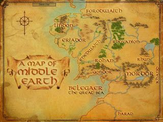 Welcome to Middle Earth | Middle earth map, Middle earth, Map