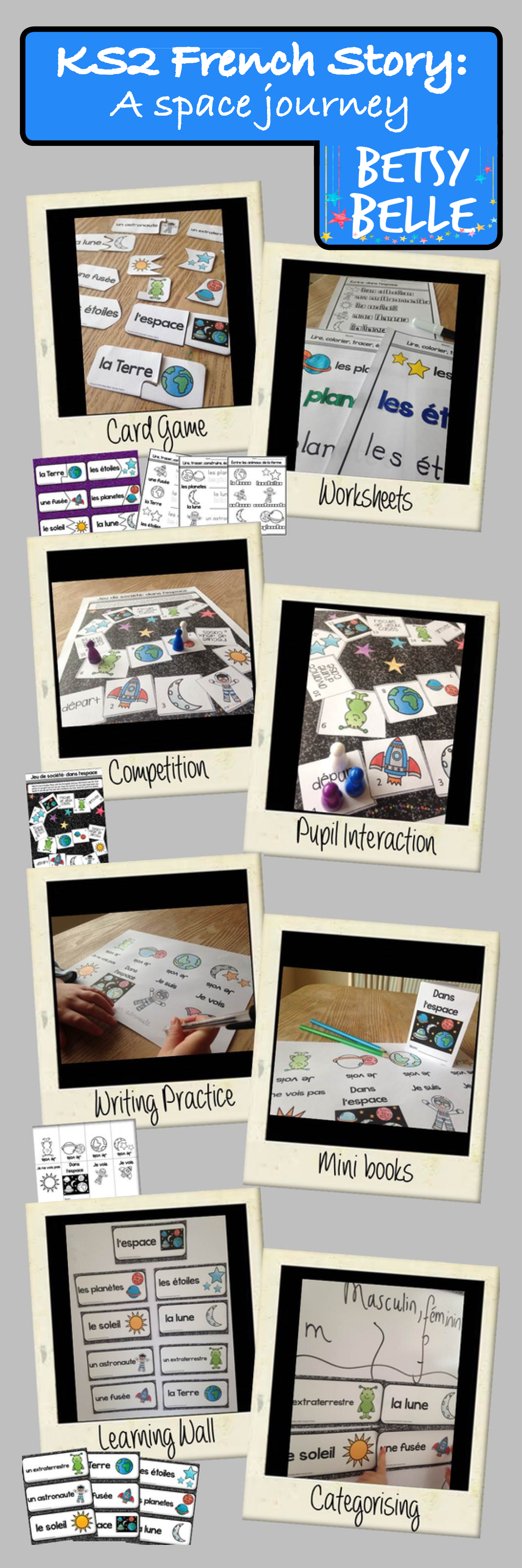 Ks2 French Story A Space Journey