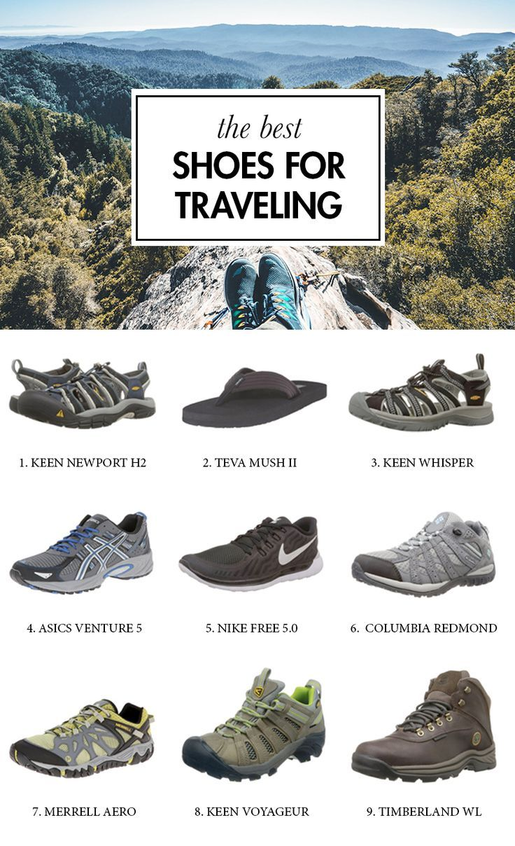 13 Best Travel Shoes for Men and Women