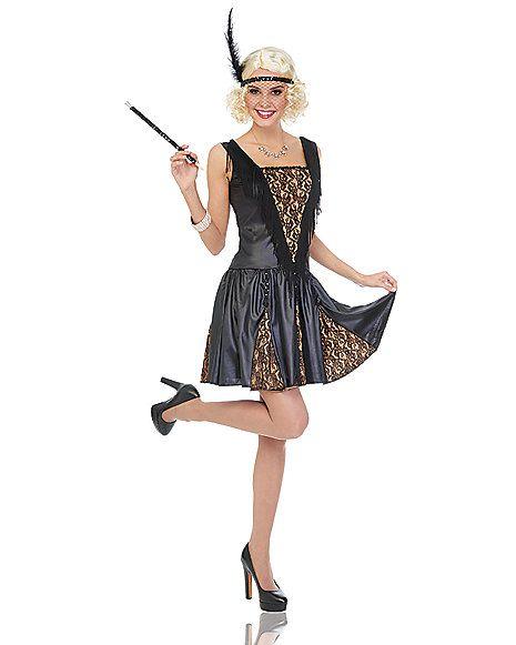 Peek a Boo Flapper Adult Womens Costume - Spirithalloween 40 - womens halloween ideas