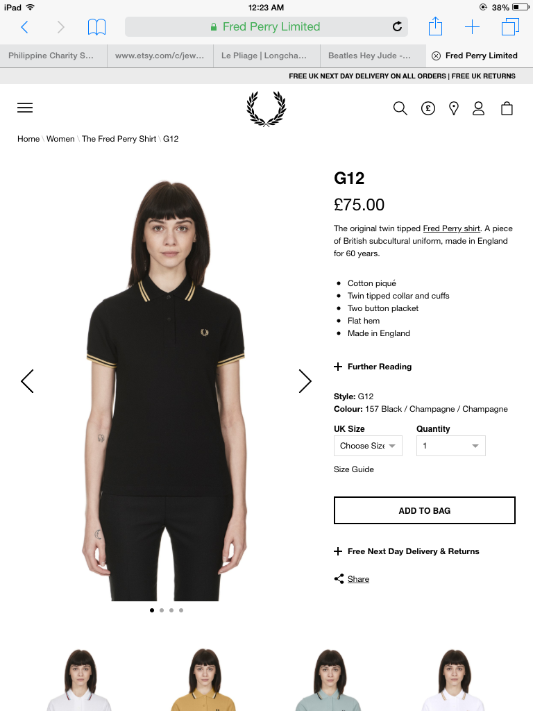 Fred Perry Jude