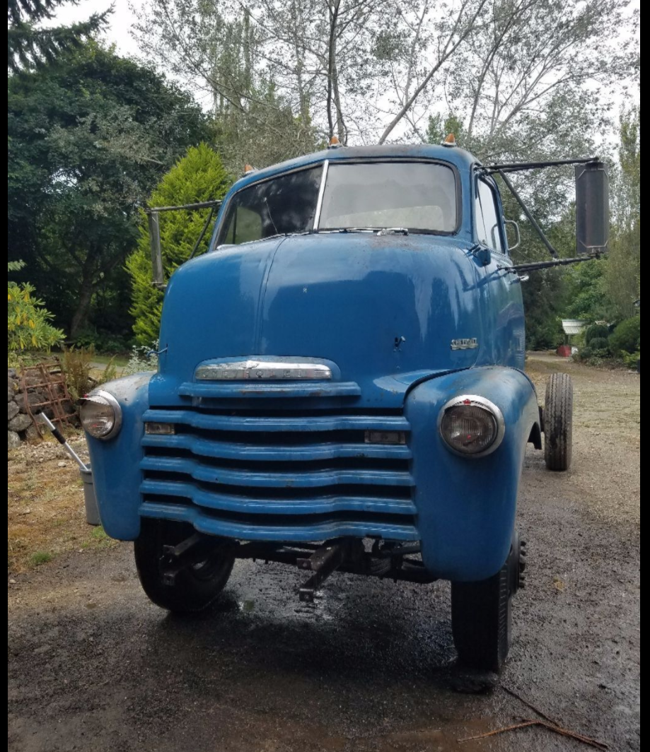 Truck chevy c10 project trucks : 1950 Chevy COE Project Truck   COE's   Pinterest