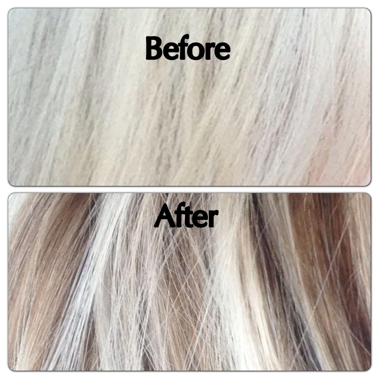 lowlights white hair - google