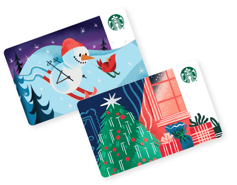 Starbucks Gift Card Perfect Gifts For Coffee Lovers Starbucks Coffee Company Starbucks Card Starbucks Gift Card Gift Card Design