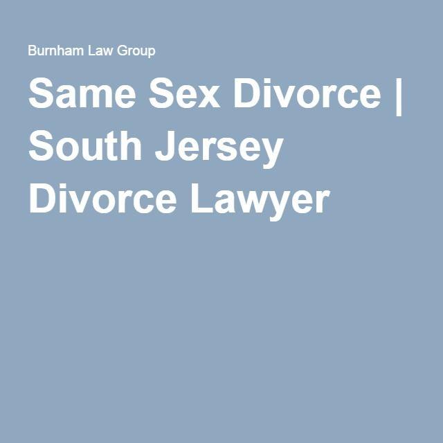 Same Sex Divorce   South Jersey Divorce Lawyer