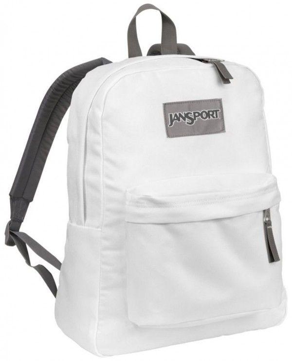 new styles 9fcd3 30ee0 Jansport Superbreak School Backpack, White.jansport backpack for girls   girls  backpacks  fashion www.loveitsomuch.com