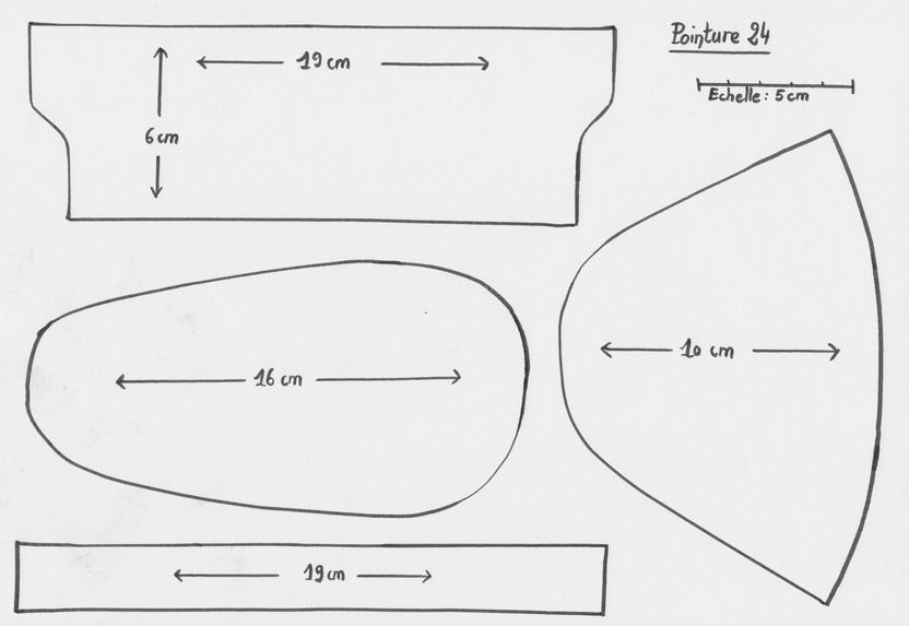 5d964e6f5d8ce Patron pour des chaussons en cuir (pointure 24-25)