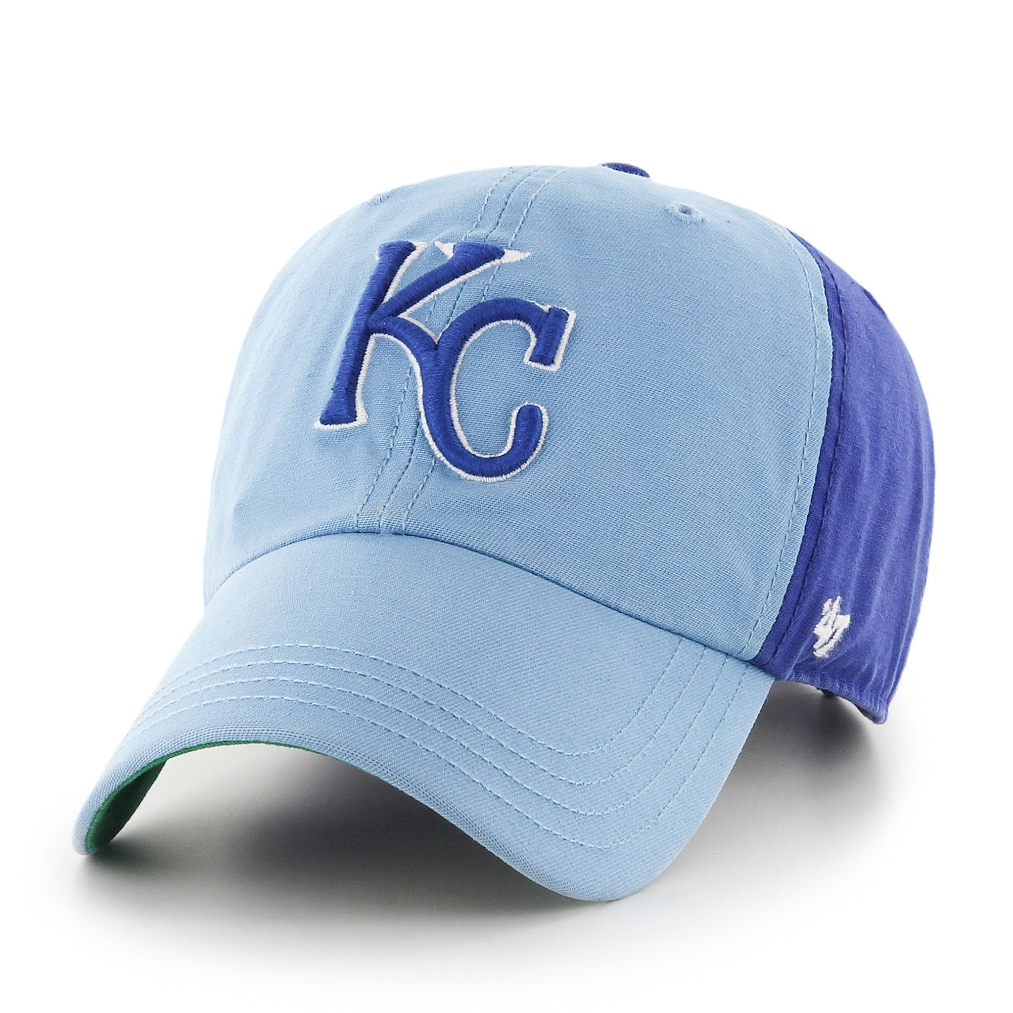 d832b88e1ab Kansas City Royals Flagstaff Adjustable Clean Up Hat by  47 Brand ...
