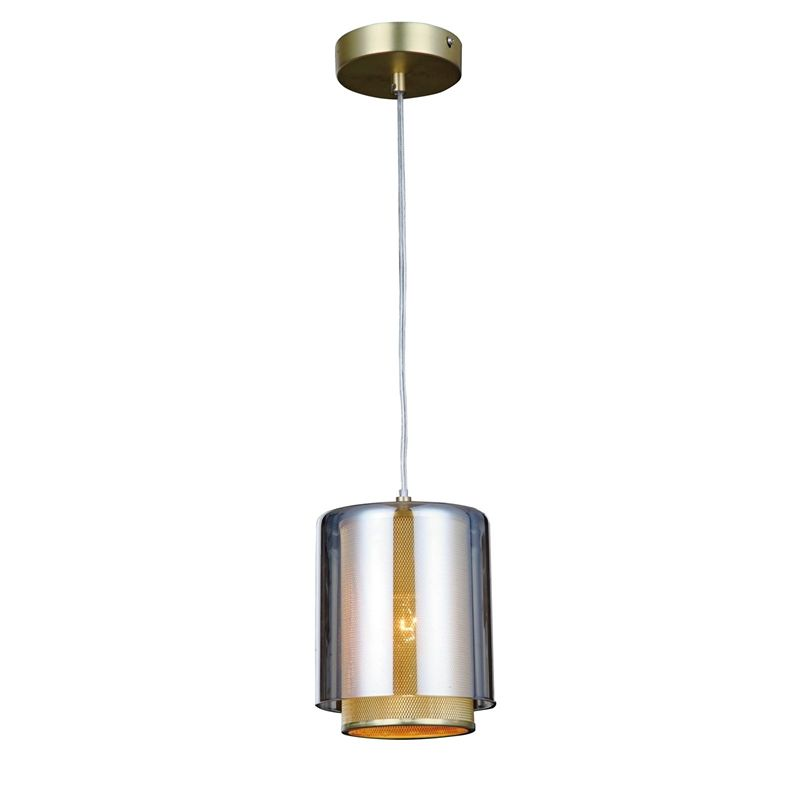Brisbane copper mesh pendant light