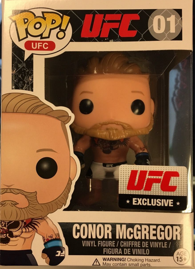 Ufc Conor Mcgregor Pop Figure By Funko Ufc Exclusive