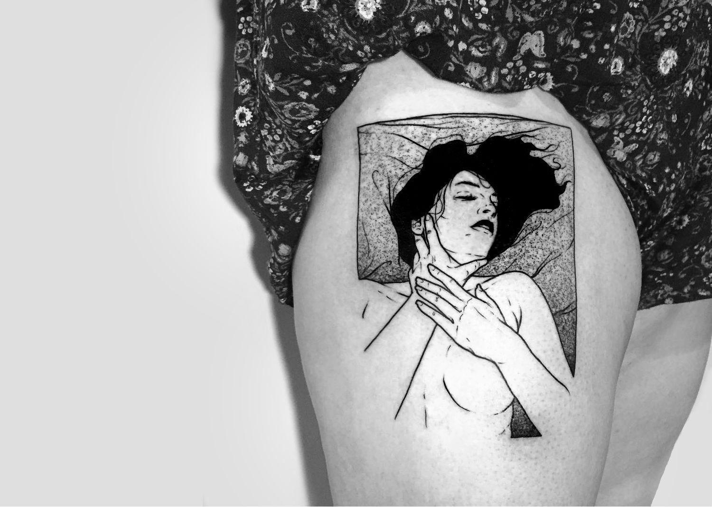 tatuajes erótico fetiche