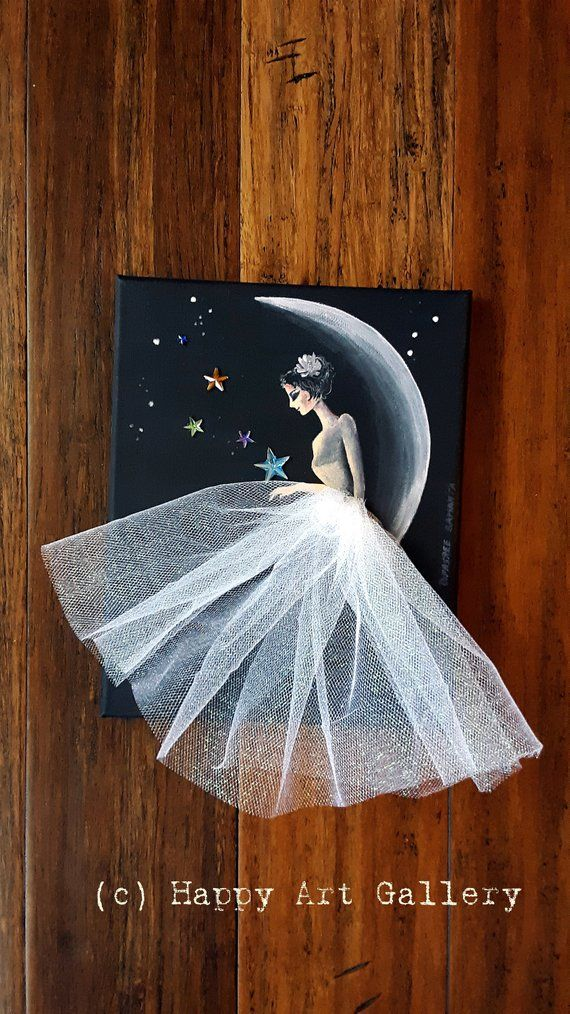 Moon Princess- Fairy doll fairy house pixie princess birthday gift mermaid fairytale princess party ballerina gift princess decor moon girl #artanddrawing