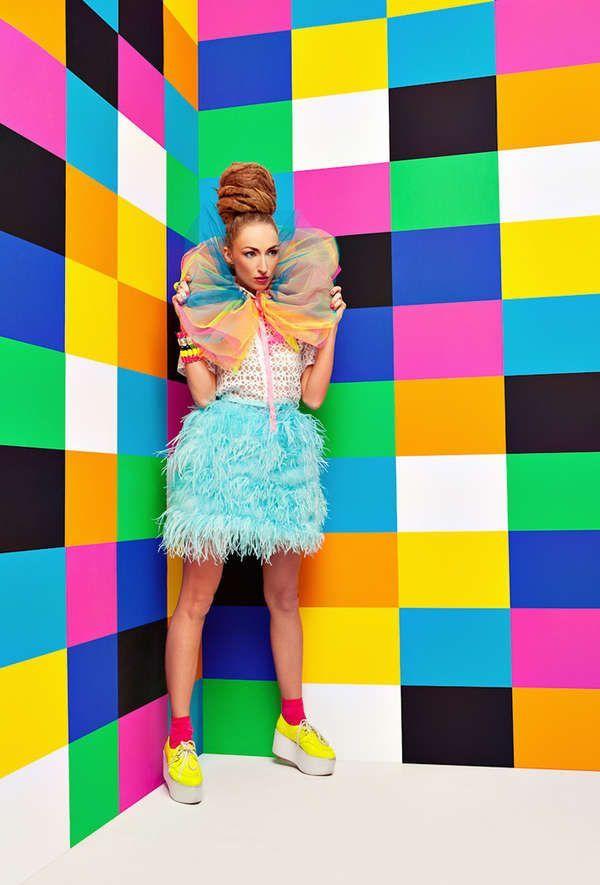 Pop Art Fashion, Colorful
