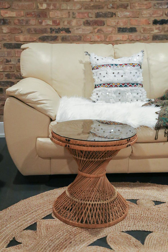 Shipping Not Free Wicker Coffee Table Gl Top End