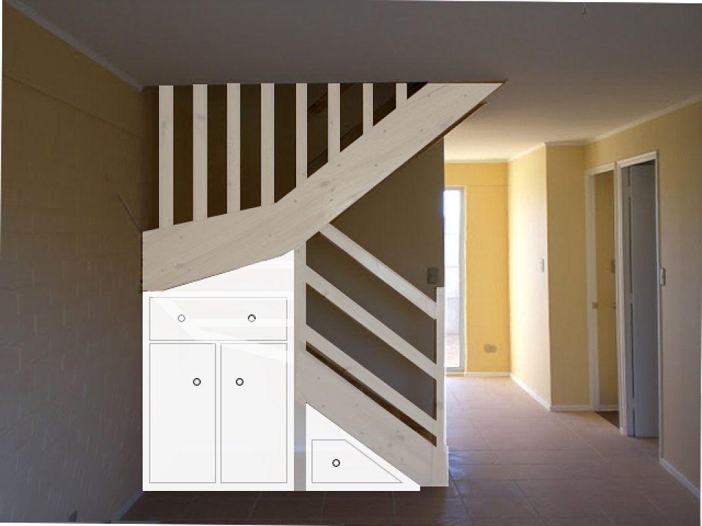 Puertas para debajo de la escalera buscar con google 3 - Escalera madera ...