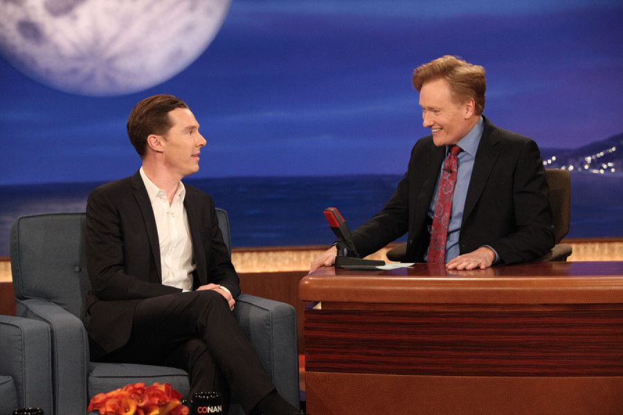 """""""None Are Immune To The Manifold Charms Of Benedict Cumberbatch, Not Even Conan"""""""