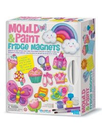 Mould And Paint Fridge Magnets Painted Fridge Crafts Kids Toy Store