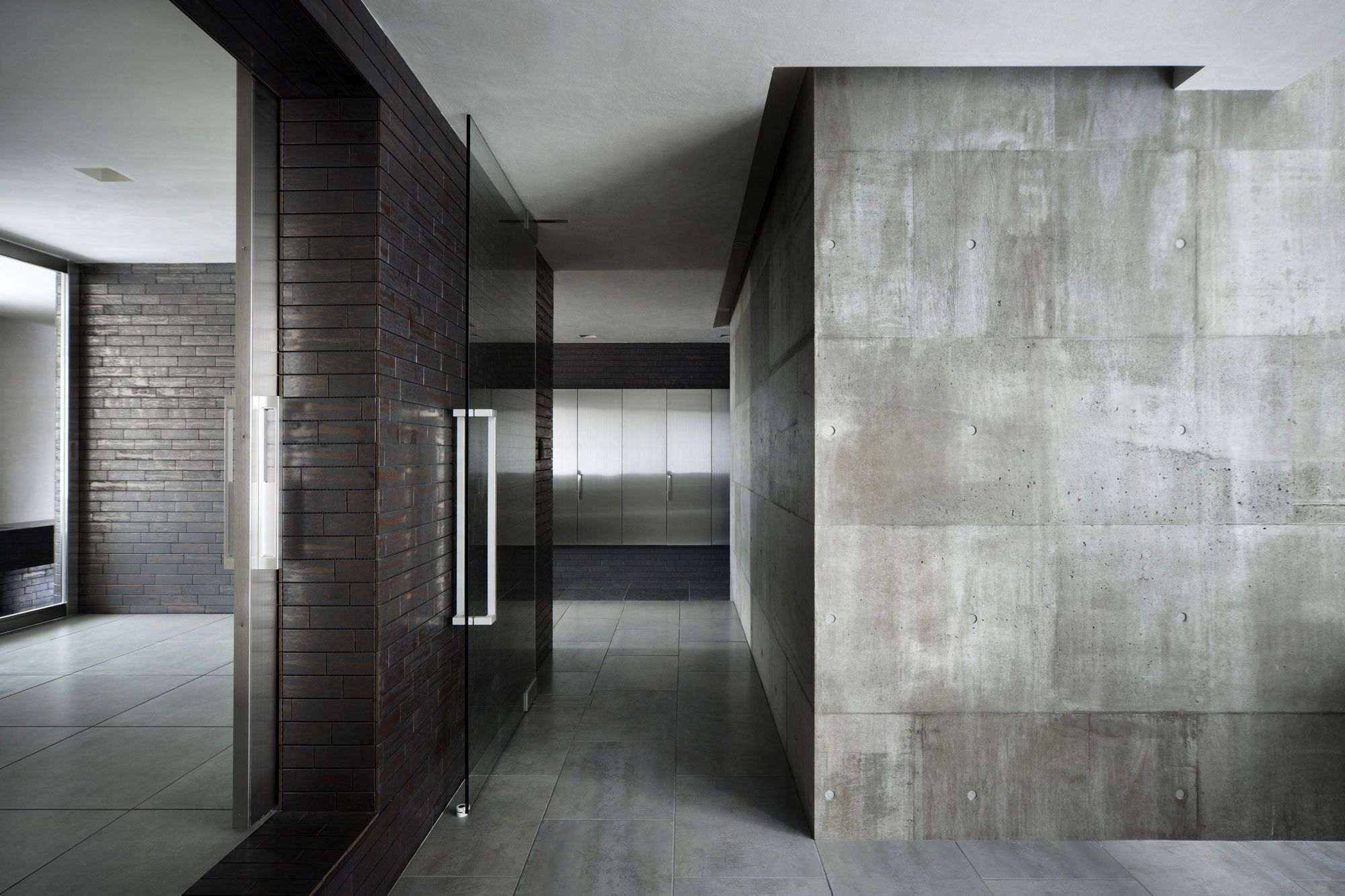 Concrete Interior Walls Office Home Of And Finishes Awesome Dark Scheme For Diy Brick Wall Design Idea Ex Concrete Interiors Brick Interior Wall Diy Brick Wall