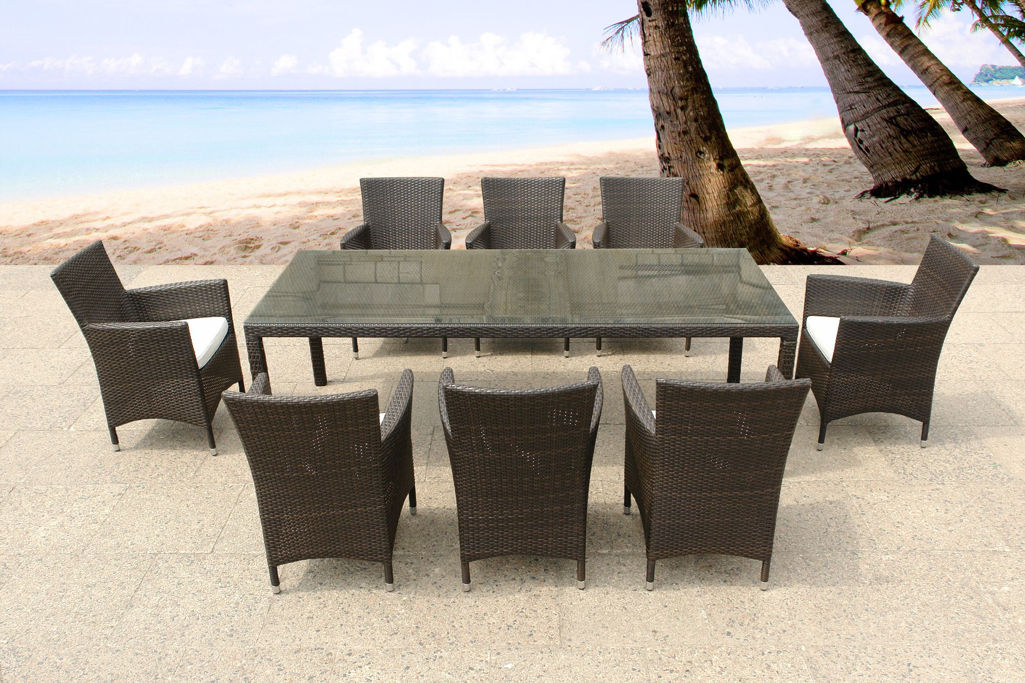9-Piece Italy Patio Dining Set