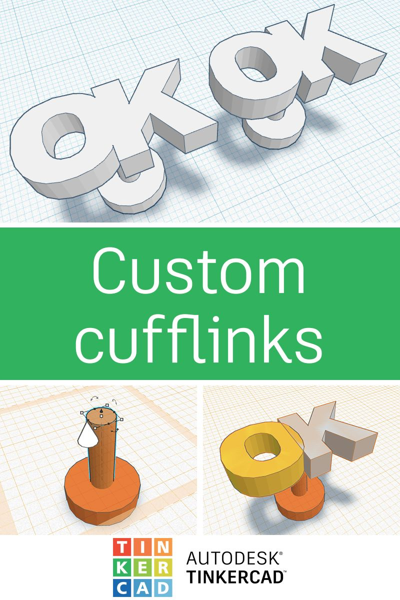 It S Really Easy To Make Custom 3d Print Cufflinks For Any Occasion With Images Custom Cufflinks Custom 3d Printing