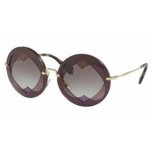 9b6d3ea279 Miu Miu SMU01S BOL3E2 Round Style Women s Sunglasses