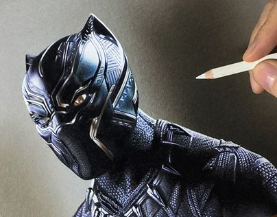 "Check out new work on my @Behance portfolio: ""Drawing Black Panther"" http://be.net/gallery/61875131/Drawing-Black-Panther"