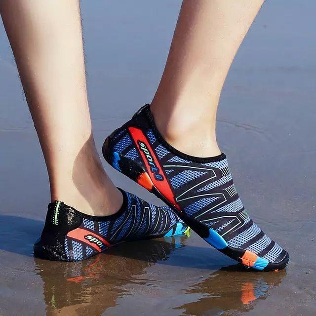 2018 hombres y mujeres piel al aire libre zapatos de vadeo