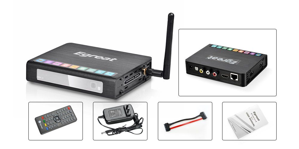 linkdelight - Egreat RTD1185 HD Media Player