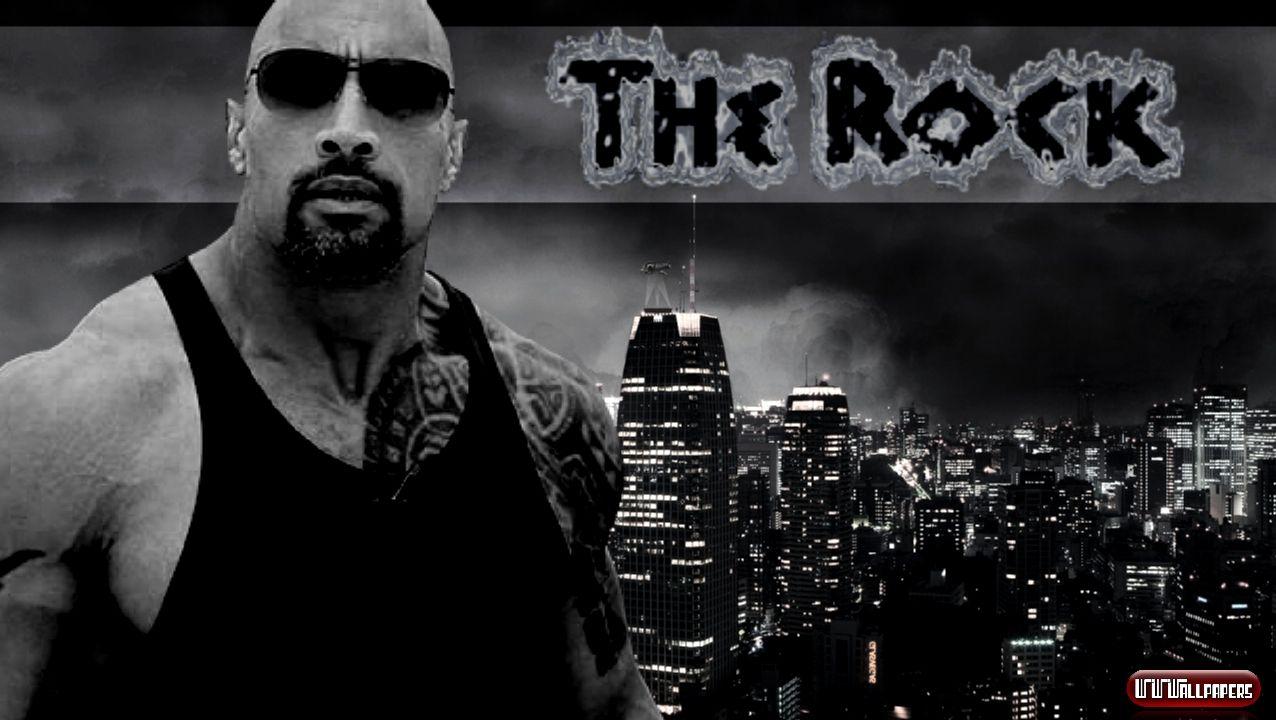 WWEWrestlingWallpapers Wallpapers Fondos WWE The Rock Wallpaper