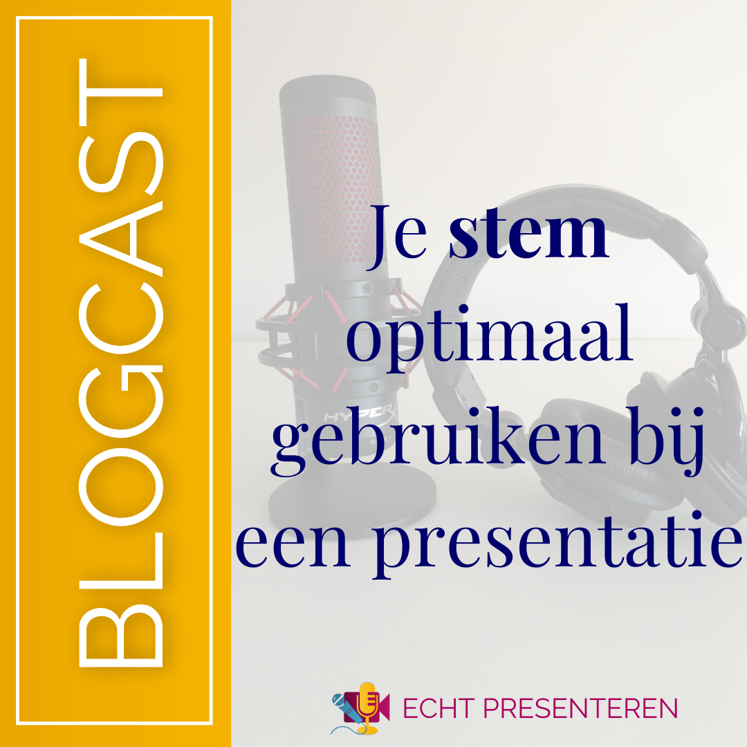 Zet Je Stem Optimaal In Tijdens Je Podcast Echt Presenteren Presentatie Podcast Podcasts