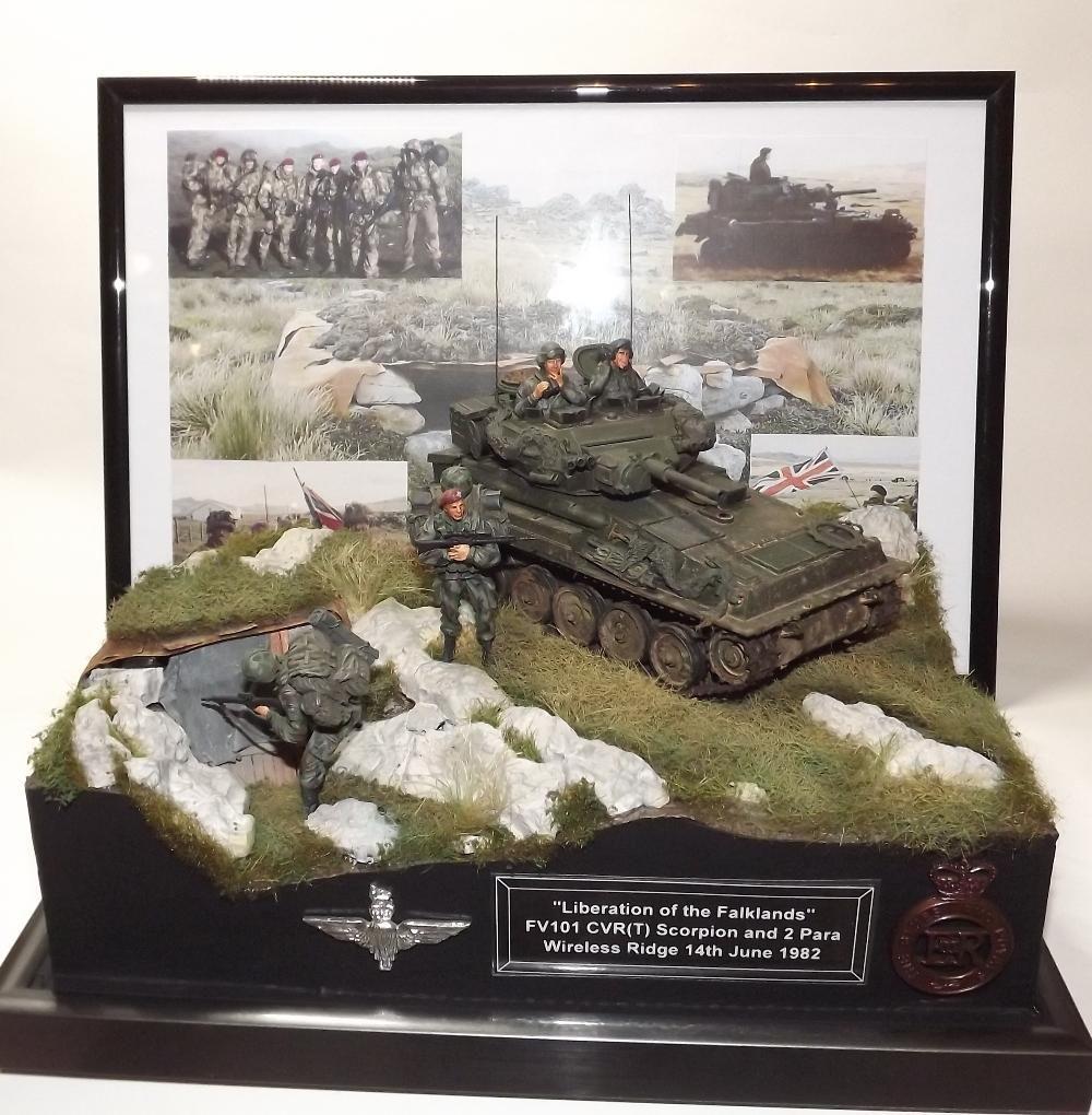 """Diorama """"Liberation of the Falklands"""""""