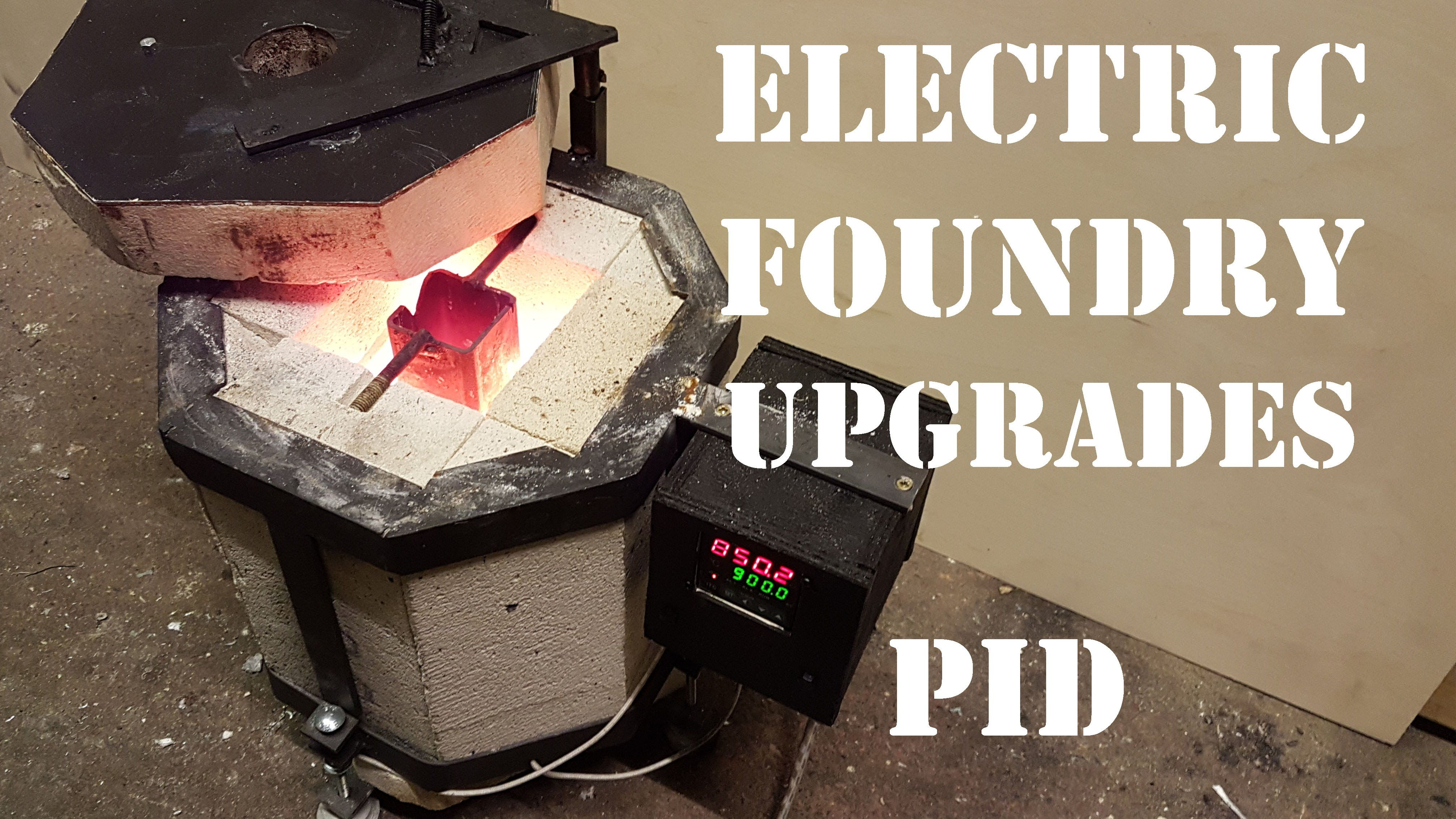 How to Make an Electric Foundry For Metal Casting - Part 2