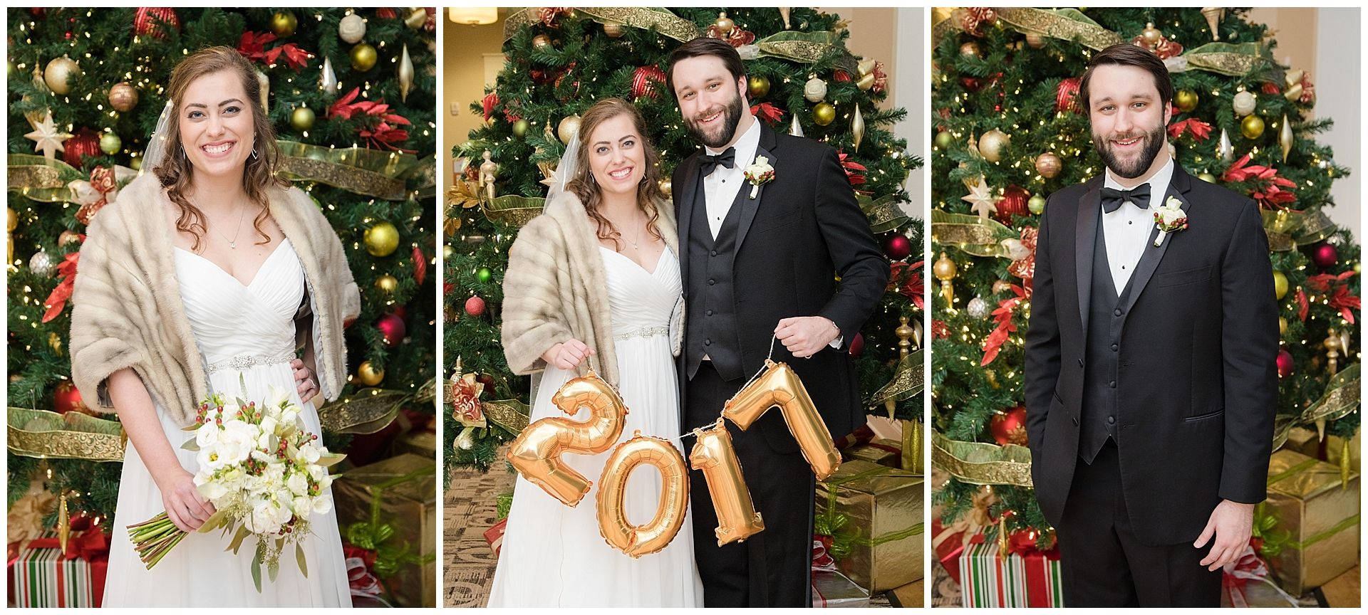 New Year S Eve Wedding At Cooper Creek Event Center And All Saints Catholic Church In Cincinnati