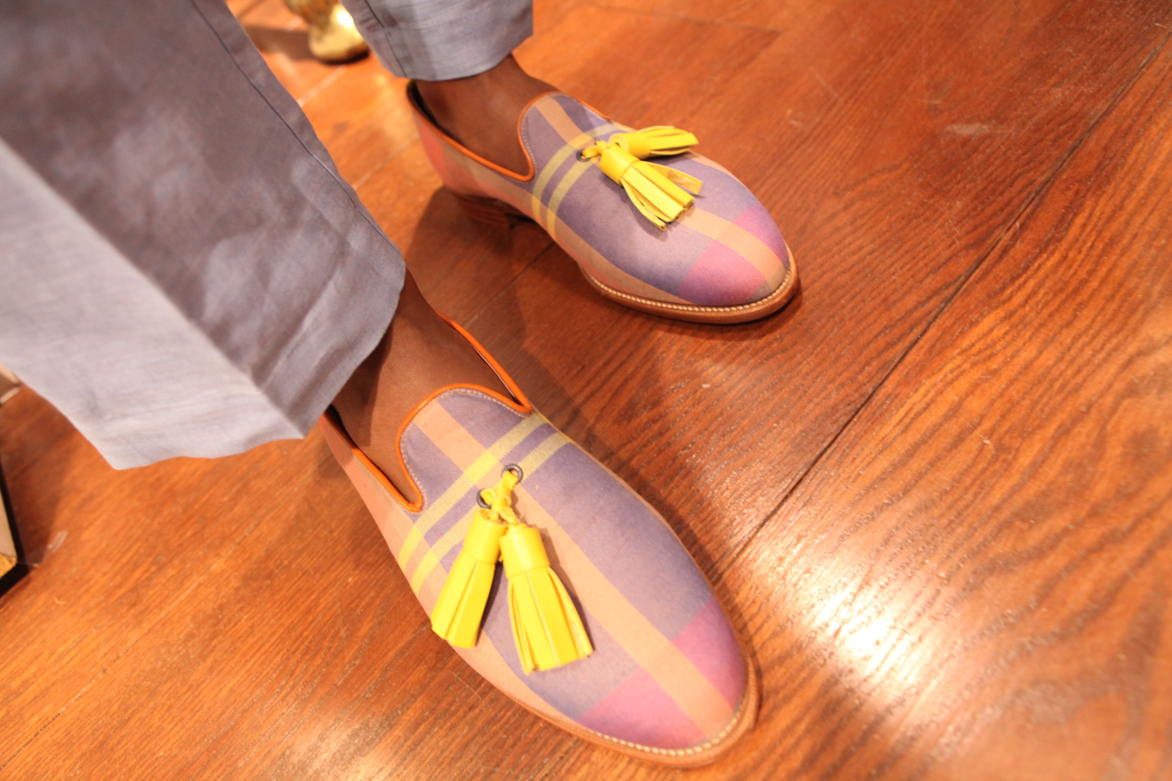 Who wouldn't love the Mac Gloucester Marcel Tassel slipper this Father's Day!?. Shop them here http://bit.ly/1j1alCV