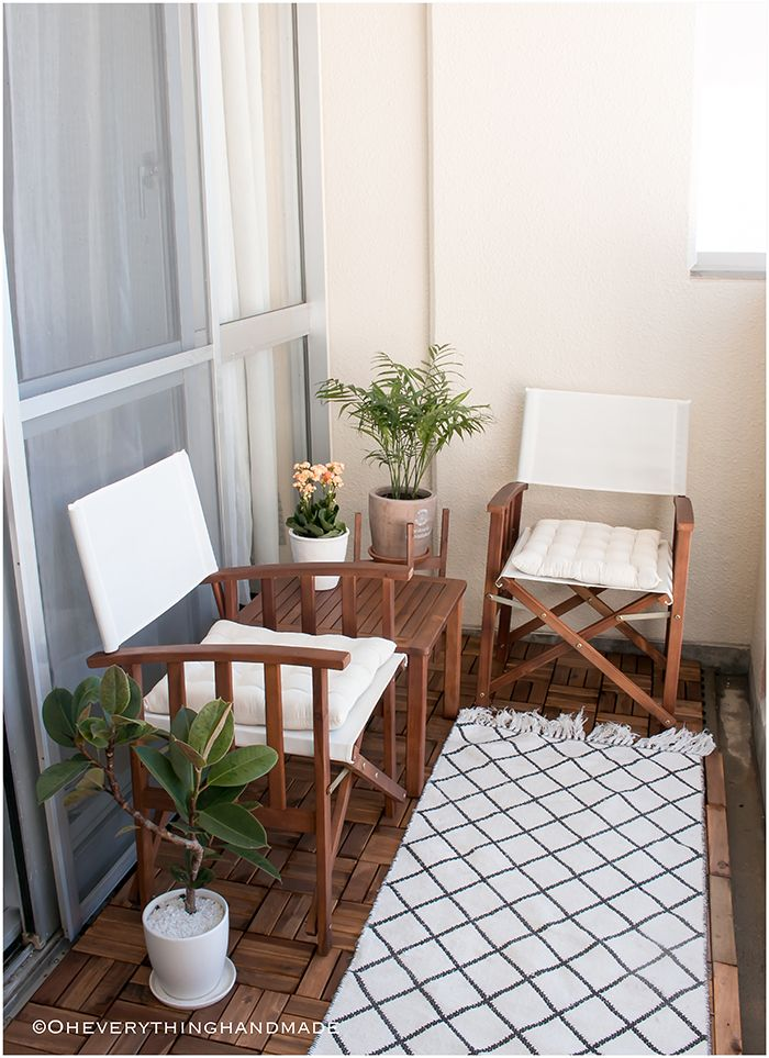 Small Balcony Makeover | DIY Crafts and Projects Ideas | Handmade
