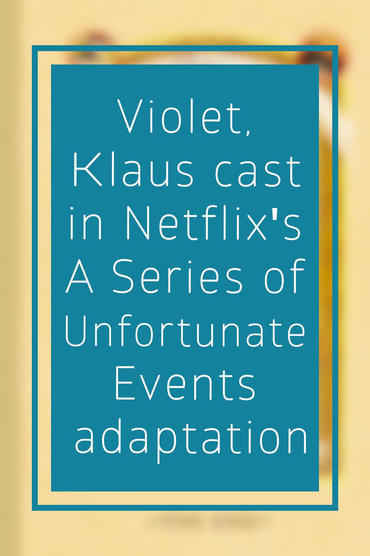 Netflix Cast Malina Weissman Of