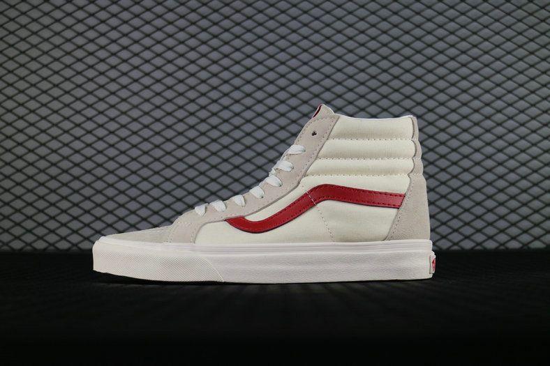 Vans Vault Og Style 36 Lxm Gd Sk8 Hi 38 Reissue Rice White Red Fog Vn0a2xs3m4z Vans For Sale Vans High Top Vans Vans Van For Sale