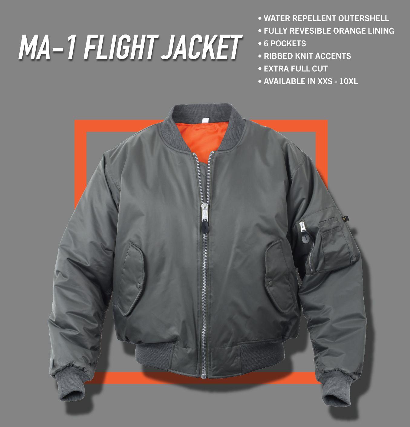 Rothco Ma 1 Flight Jacket Flight Jacket Classic Bomber Jacket Jackets [ 1411 x 1355 Pixel ]